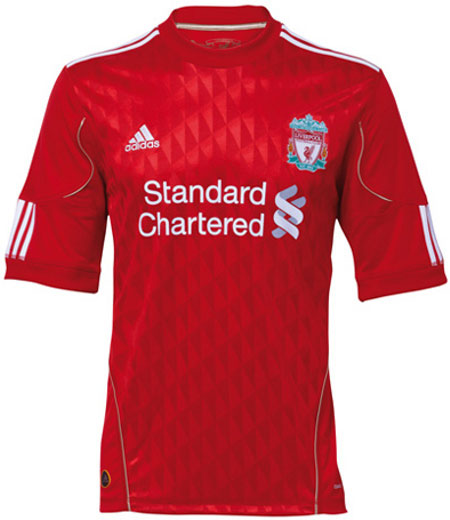 New Liverpool Kit Standard Chartered
