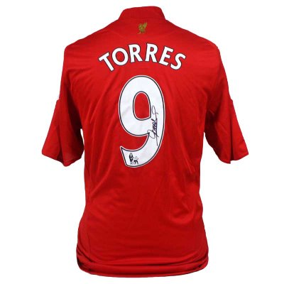 Win a signed Torres Shirt