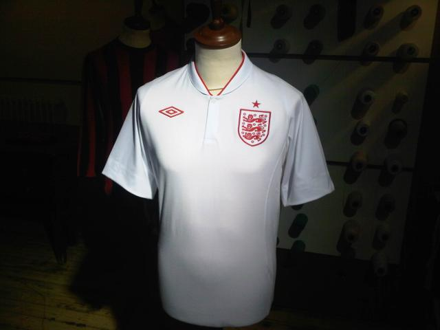 New England Home Shirt 2012